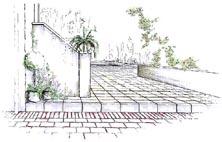 Landschaftsarchitektur Garten Skizze | Möbelideen